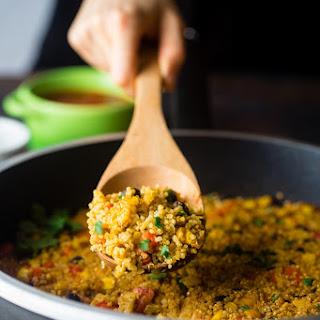 """Cheesy"" Mexican Quinoa {Vegan + One Pan}"