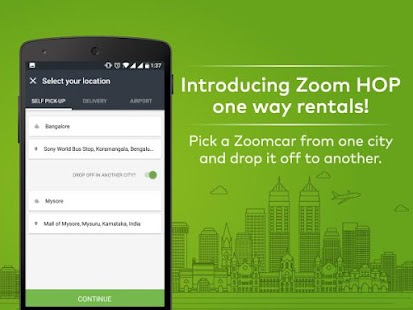 Zoomcar Self Drive Car Rental - náhled