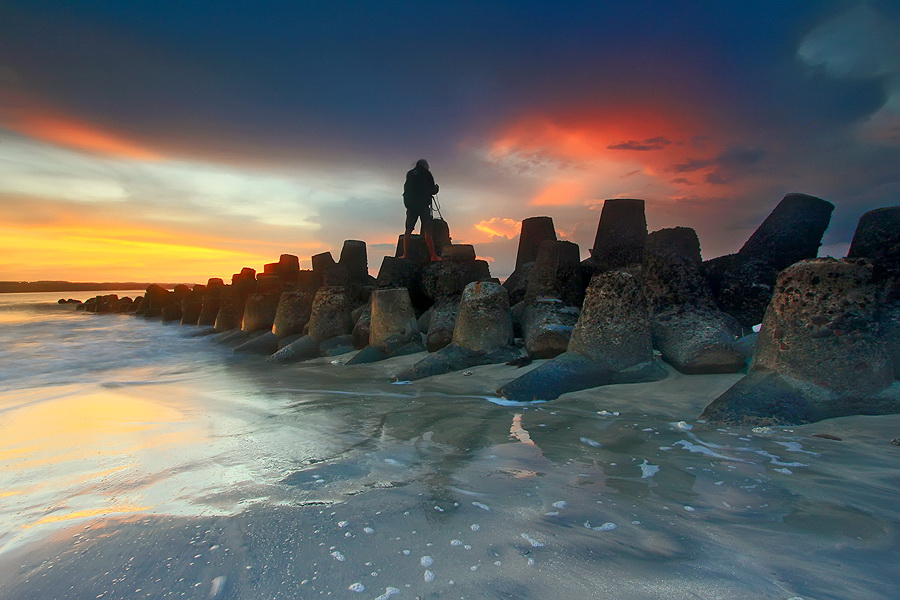 The Landscaper by Agoes Antara - Landscapes Waterscapes
