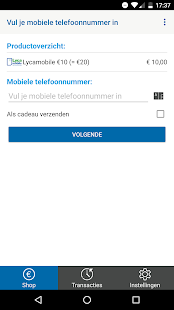Lycamobile - Beltegoed- screenshot thumbnail