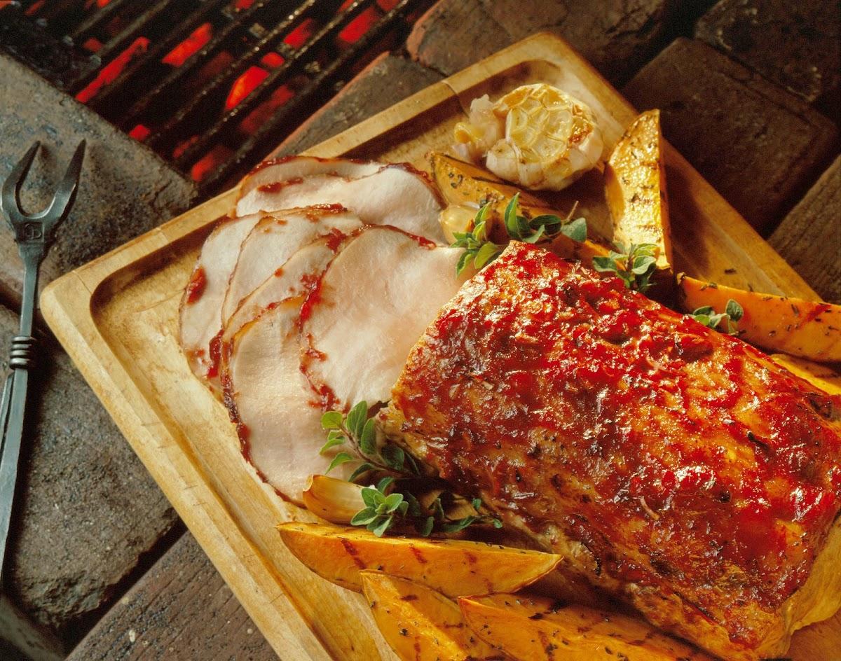 Cranberry-Onion Pork Roast Recipe | Yummly