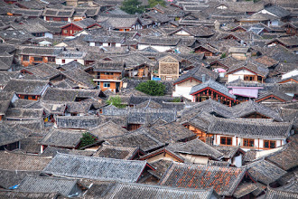 Photo: Ancient Rooftops Forever  This old town in China is an endless labyrinth of small streets and alleyways. They are packed so tightly together and there is no room for cars. Sometimes, there's only room for one rickshaw.  #SICInDatabase