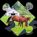 Farm Animals Jigsaw Puzzles icon