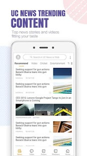 UC Browser- Free & Fast Video Downloader, News App Screenshot