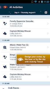 Disney Cruise Line Navigator - screenshot thumbnail