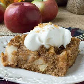 Low Carb Grain Free Apple Dump Cake.