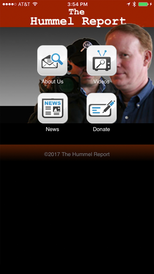 Hummel Report- screenshot