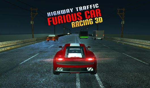 Highway Traffic Furious Car Racing 3D - náhled