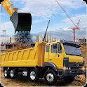 Hill Bridge Construction Crane icon