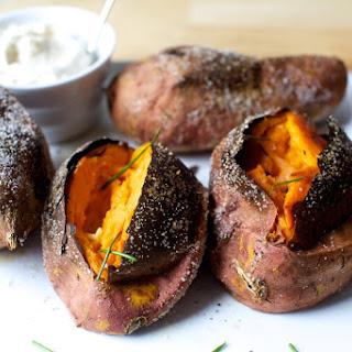 Slow-Roasted Sweet Potatoes.