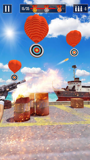 Shooting Master - free shooting games apkslow screenshots 9
