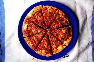 Photo: Grandes días en los q la felicidad tan solo cuesta uno noventa y cinco #pizza #felicidad