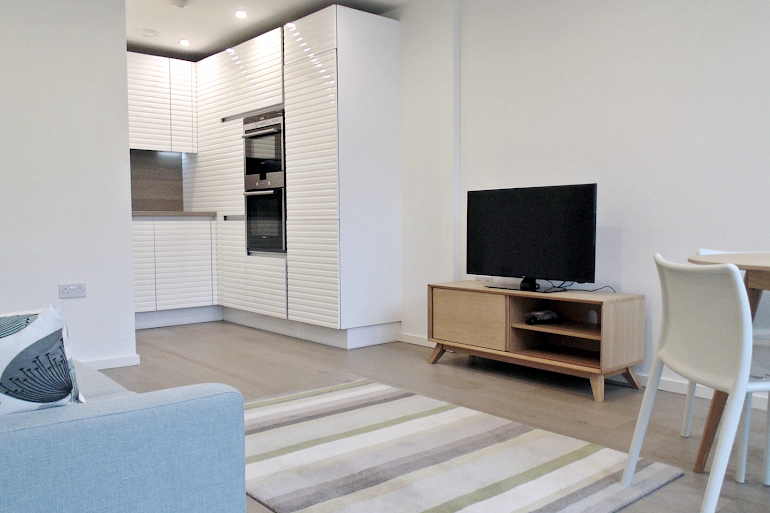 living space at Clerkenwell Deluxe