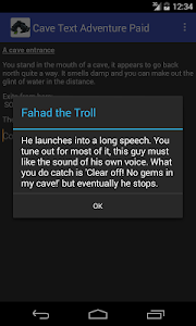 Cave Text Adventure Paid screenshot 1