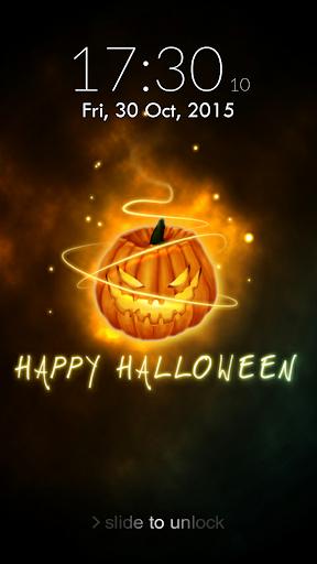 Halloween Lock Screen