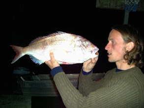Photo: a heavy snapper and a proud Rene