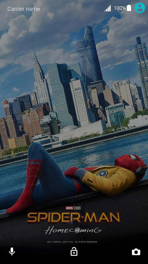 XPERIA™ Spider-Man: Homecoming Theme- screenshot