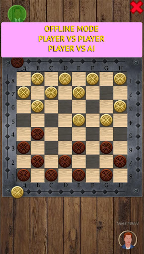 Checkers Online - Draughts Online & Offline android2mod screenshots 4
