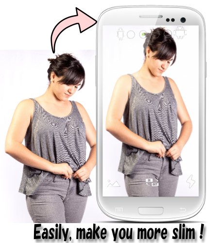 Slim Camera - make you slender