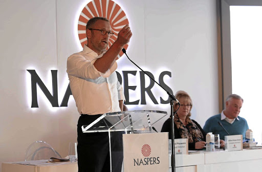 NASPERS RESULTS: Owing it all to Tencent