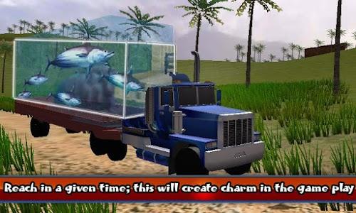 Transport Truck Shark Aquarium screenshot 3