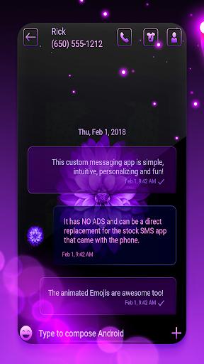 Latest keyboard and SMS theme 2020 screenshots 3