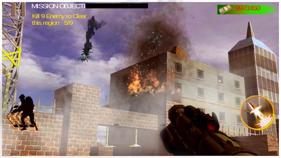 Death Clash War Zone Mission screenshot