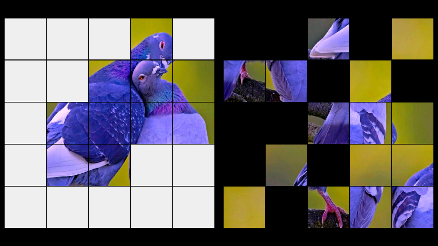 android Birds Jigsaw Puzzle + LWP Screenshot 2