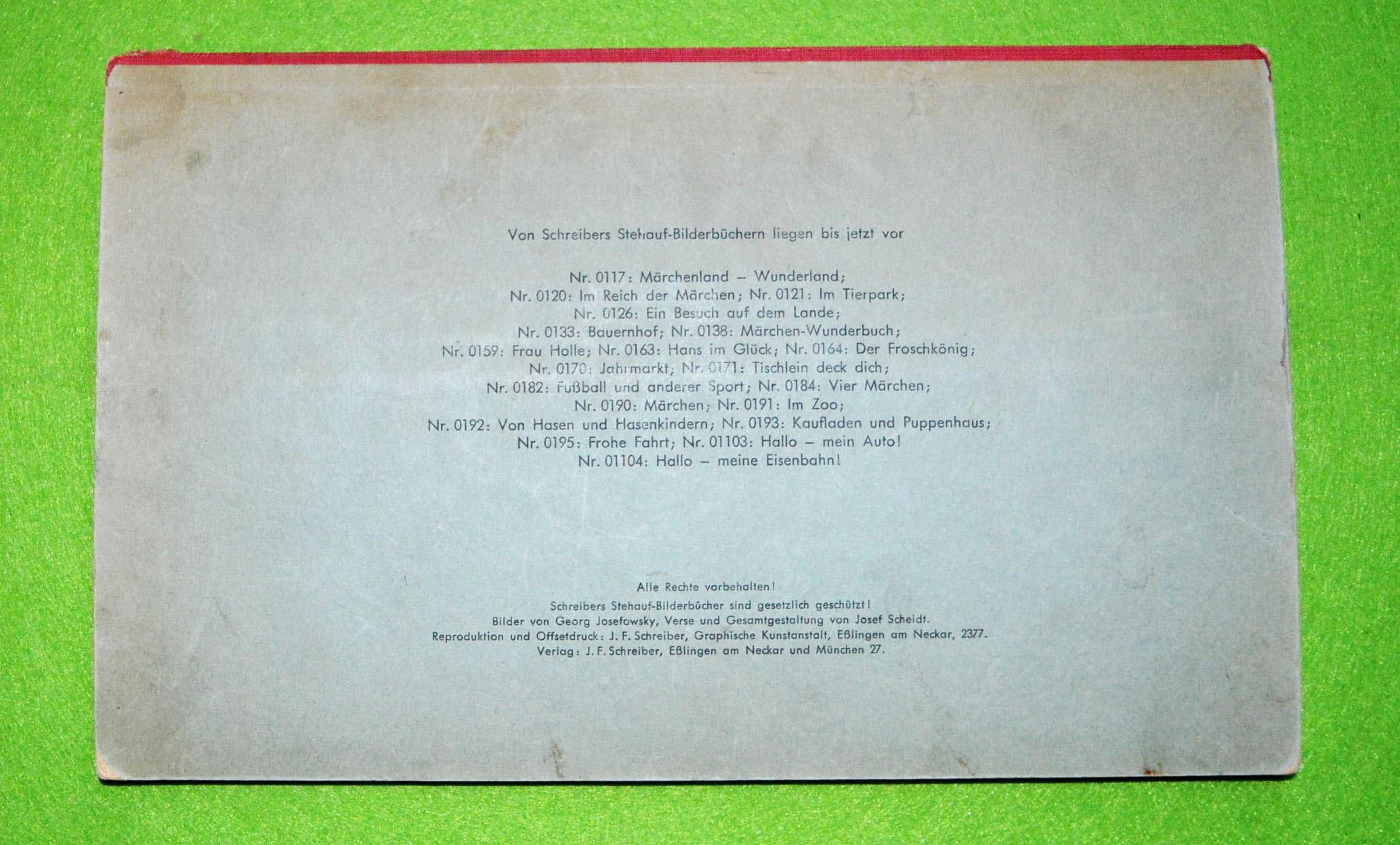 Schreibers Stehauf-Bilderbücher - Bilderbuch Jahrmarkt - JFS-0170