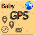 Baby GPS - share via sms icon