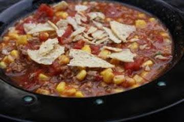 Crock Pot Southwest Beef Chili Stew Recipe