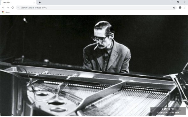 Bill Evans New Tab & Wallpapers Collection