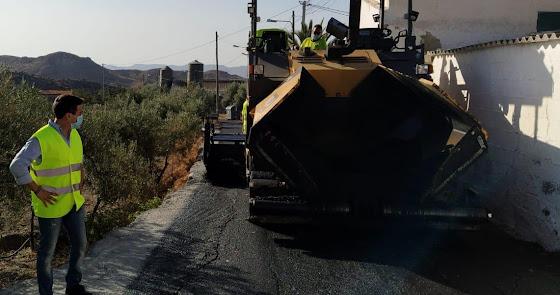 Mejorarán más de una veintena de caminos rurales en Roquetas, Adra y Enix