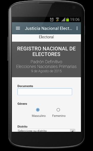 Donde Voto Elecciones 2015
