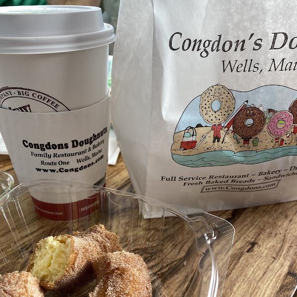 Photo from Congdon's Doughnuts