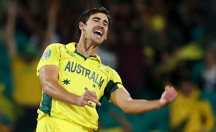 Mitchell Starc.  Picture: REUTERS/STEVE CHRISTO