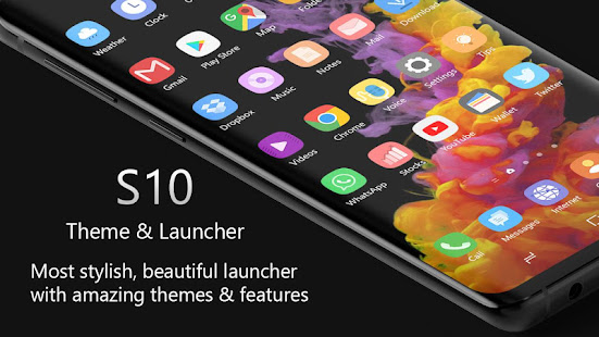 Theme for Samsung S10 Launcher,Galaxy S10 Launcher for PC