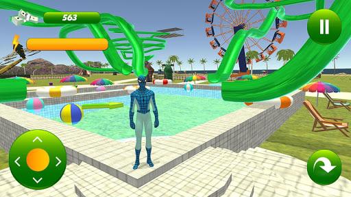 super hero water slide uphill rush  screenshots 1