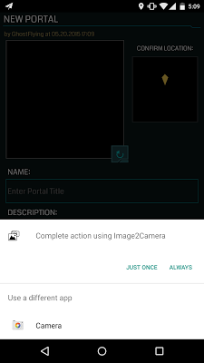 Image2Camera - screenshot