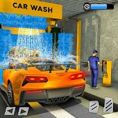 Car Wash Service Gas Station: Modern Car Mechanic (Unreleased) Android APK Download Free By Play.io