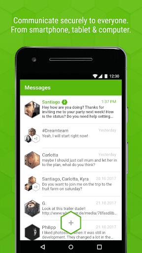whispeer Messenger  screenshots 2
