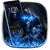 3D Grim Reaper soft screen off and lock