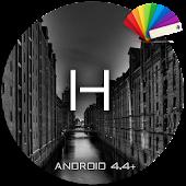 Theme Xperiem Halla Black Pro