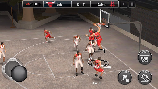 NBA LIVE Mobile Basketball  gameplay | by HackJr.Pw 7
