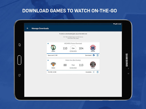 NBA App 9.1107 screenshots 11