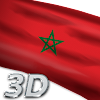Morocco Flag Live Wallpaper 3D APK