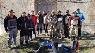 Voluntarios participantes en el muestro en Los Vélez.