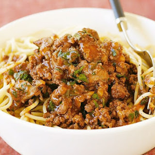 Maggie Beer's bolognese.