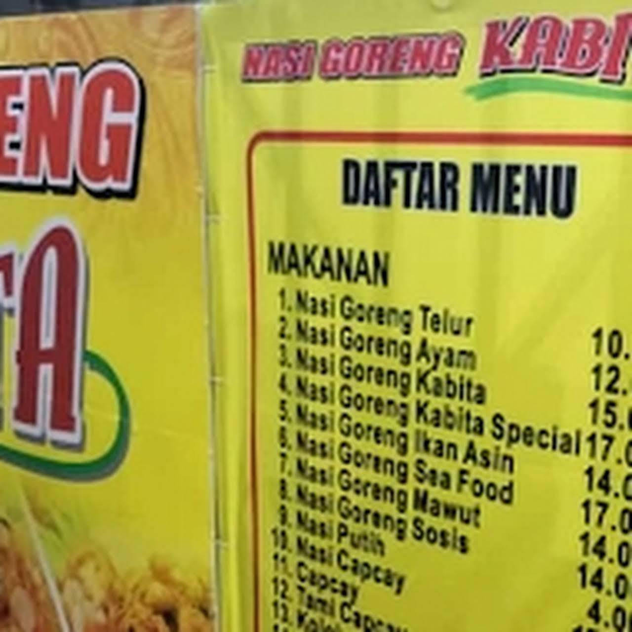 Nasi Goreng Kabita Restoran