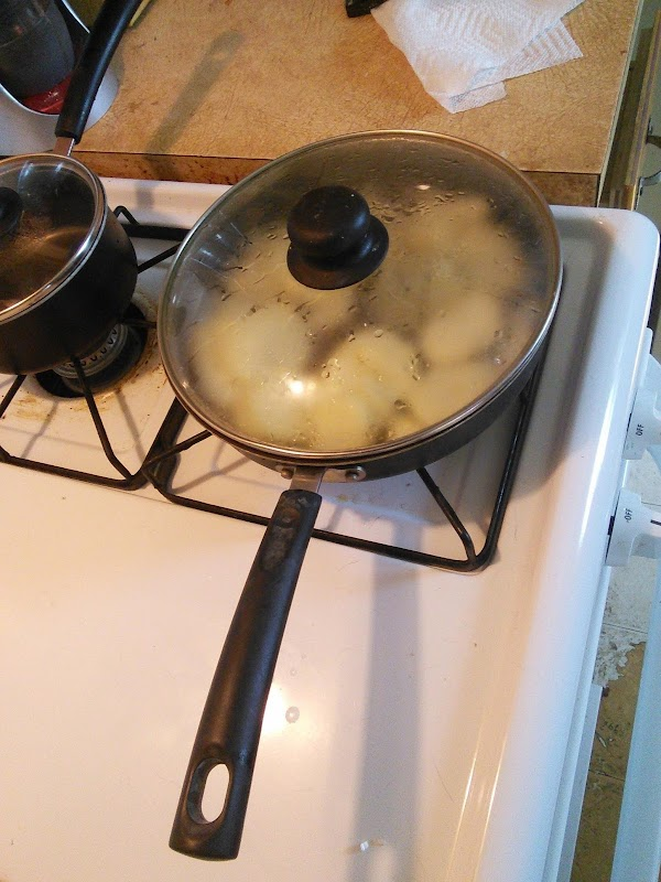 My Bf Calls It Egg Mess. Recipe